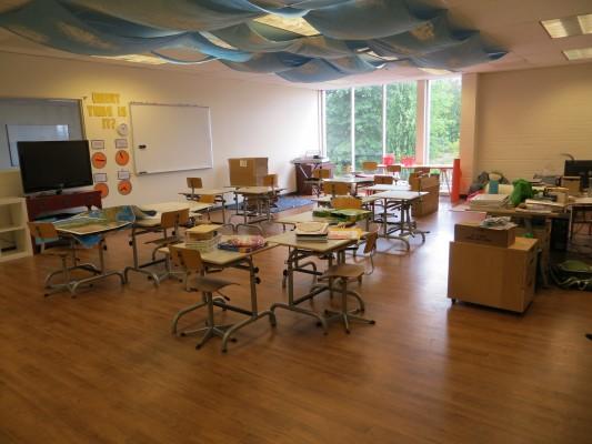 The sapphire classroom
