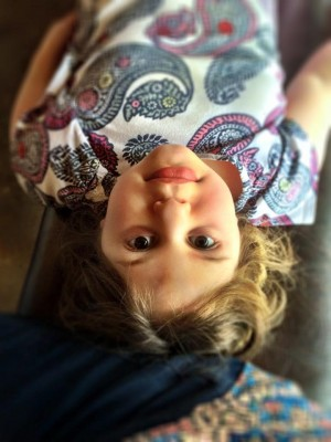 Noami upside down